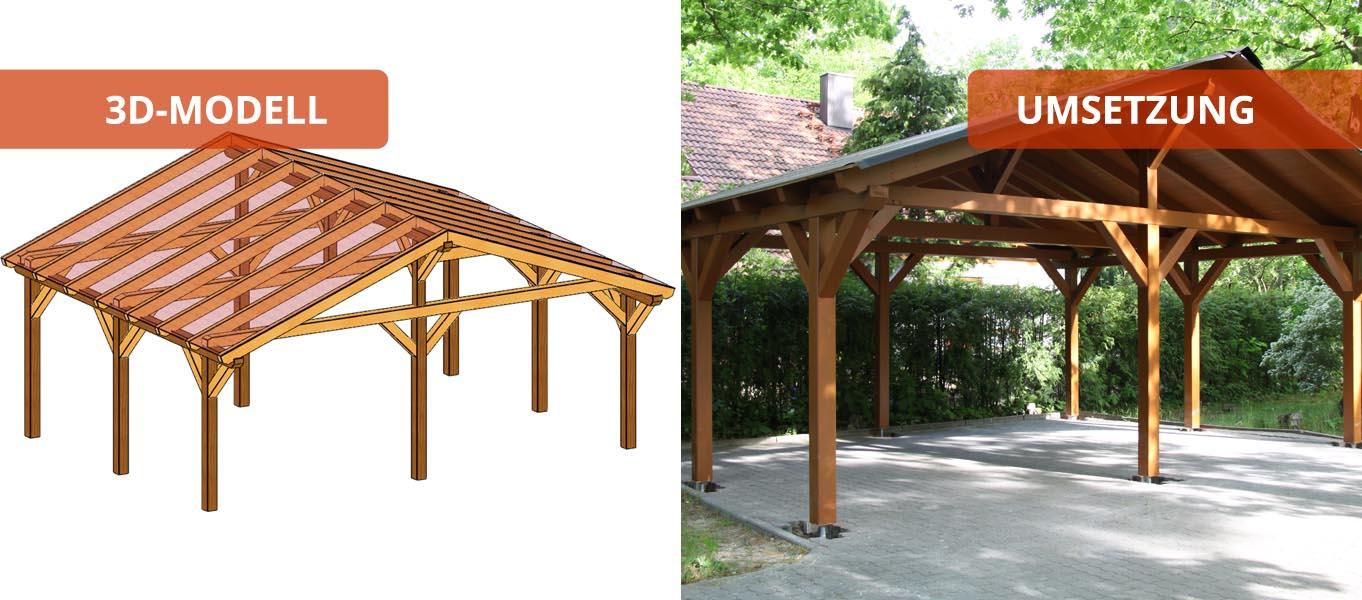 carport selber planen swalif. Black Bedroom Furniture Sets. Home Design Ideas